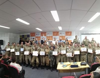 Guardas formados em Gestão de Segurança Pública
